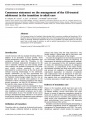 Management of the GH-treated adolescent in the transition to adult care